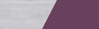 Balta + violetinė