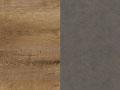Lefkas ąžuolas + pilka