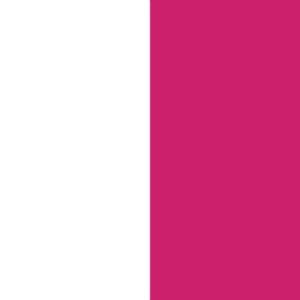 Balta + Rožinė